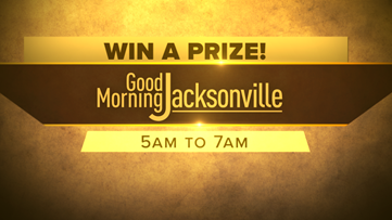 Tune in to Good Morning Jacksonville to win a BIG surprise!