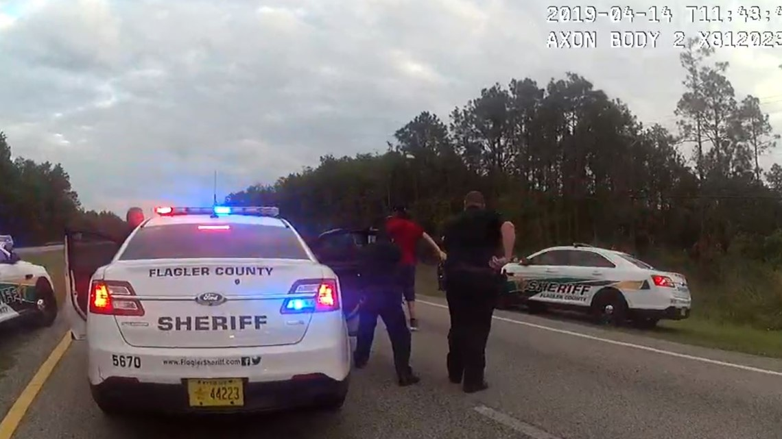 BODY CAM VIDEO: Stolen car recovered using license plate