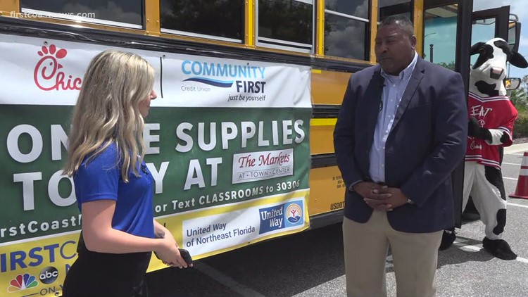 Stuff the Bus: First Coast shows up for students