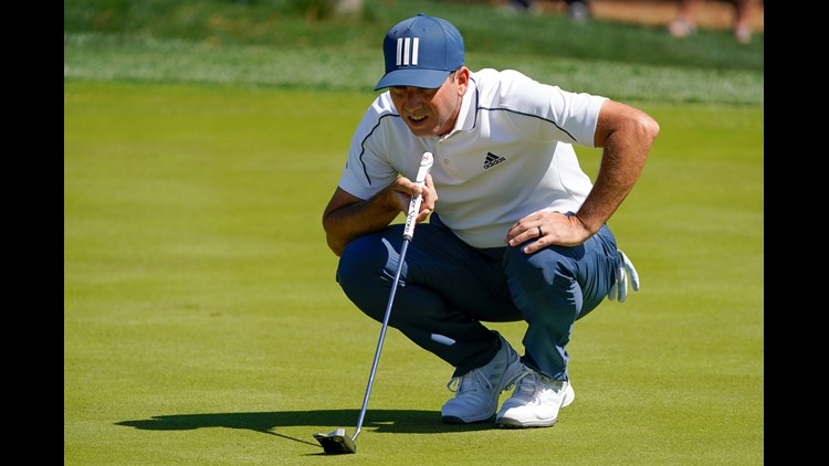 Sergio Garcia in front through one round at The PLAYERS Championship