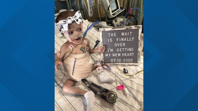 After nearly a year wait, St. Augustine 1-year-old gets heart transplant