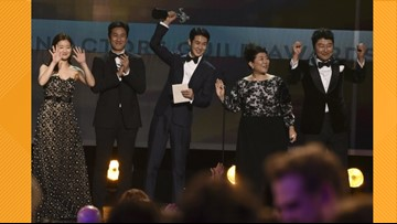 The Buzz: SAG Awards features historic moment