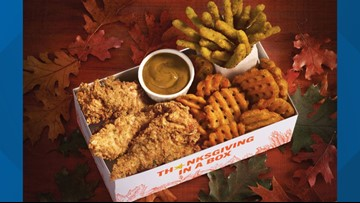 Fast-food chain unveils new 'Thanksgiving in a Box'