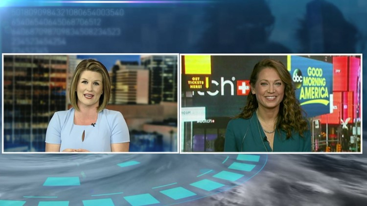 Full Interview: One on one with ABC's Chief Meteorologist Ginger Zee