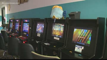 Civil rights leaders protest to restore jobs at adult arcades in Jacksonville