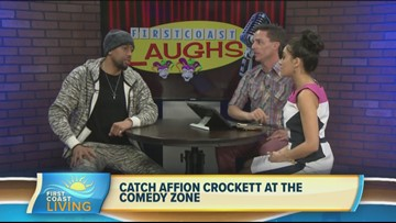Don't miss Affion Crocket at the Comedy Zone!