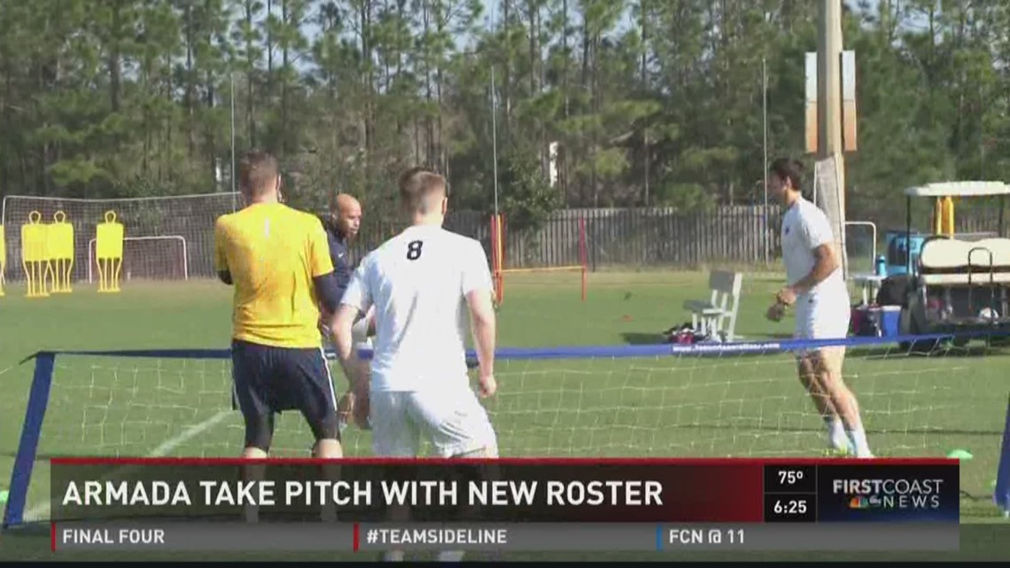 Armada take pitch with the new roster