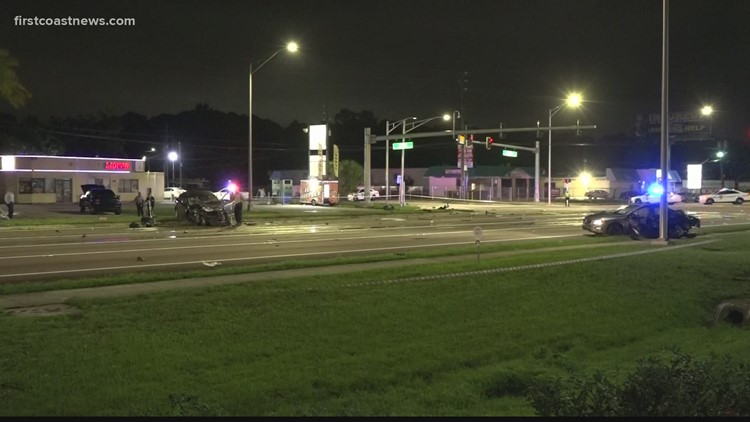 Crash on Beach Boulevard leaves one critically injured