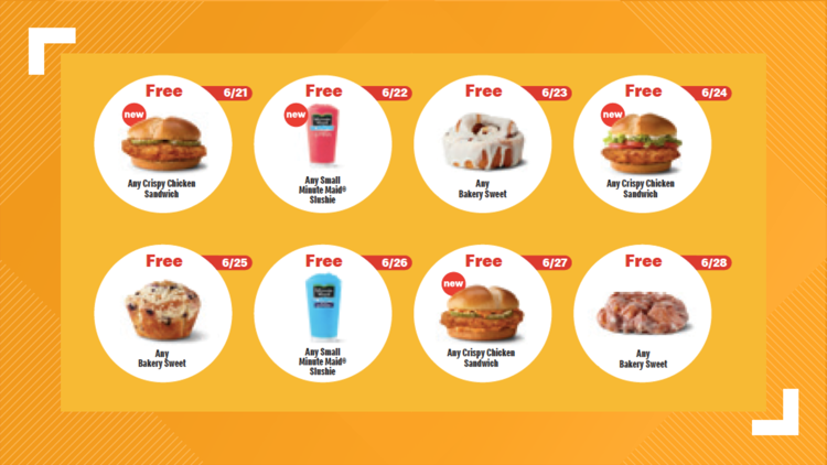 Starting today, you can get these free menu items from McDonald's