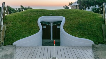 Iconic Atlantic Beach 'Dune House' up for sale