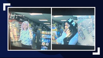 2 women wanted for questioning in regards to vehicle break-ins