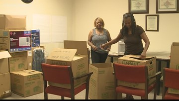 Families sending help to hurricane-damaged Bahamas