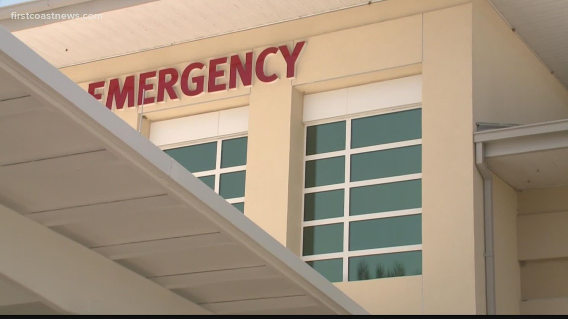 Long ER wait times at hospitals due to influx of COVID-19 patients