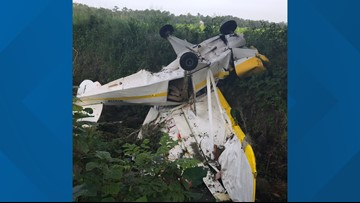 Single-engine plane crashes in Hastings, Fla., both occupants survived