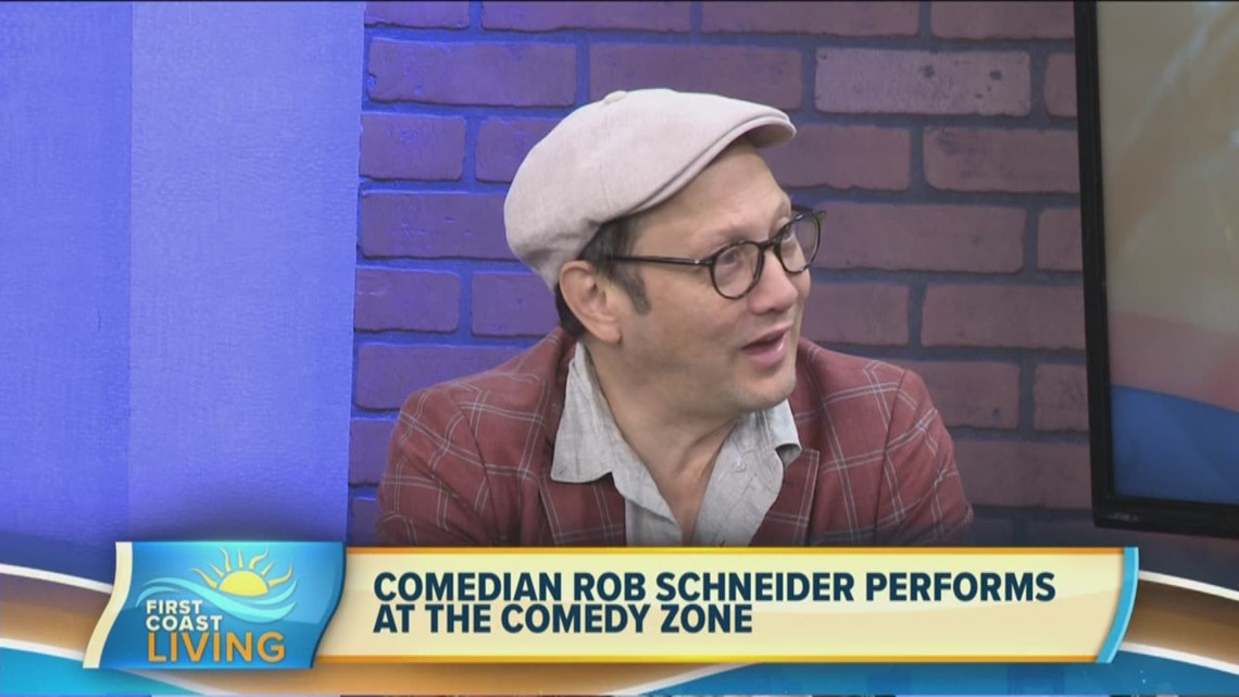 Comedian Rob Schneider Performs in Jacksonville (FCL Sept. 20)