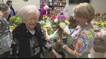 Bouquets of Kindness engages local seniors