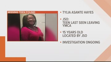 UPDATE: Missing child alert canceled for 15-year-old from Jacksonville