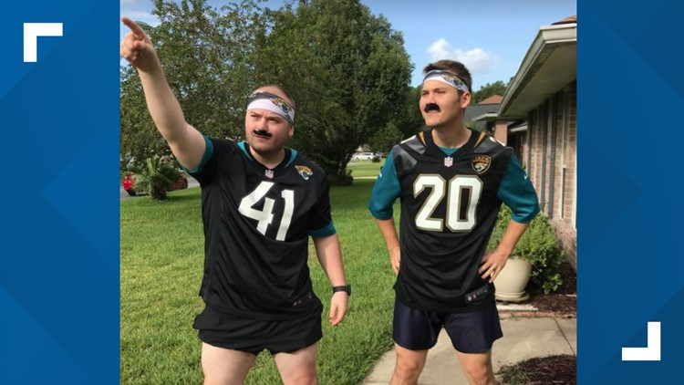 Day after Jaguars win, First Coast comes down with case of Minshew Mania