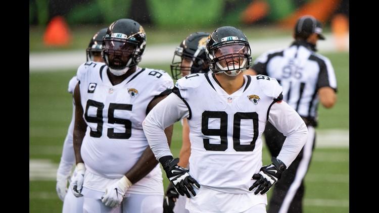 Report: Jaguars decline Taven Bryan's fifth-year option