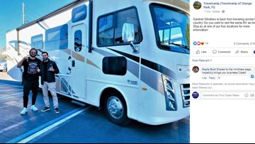 Drive in Minshew style! Here's how you can rent the RV he drove on his U.S. road trip!