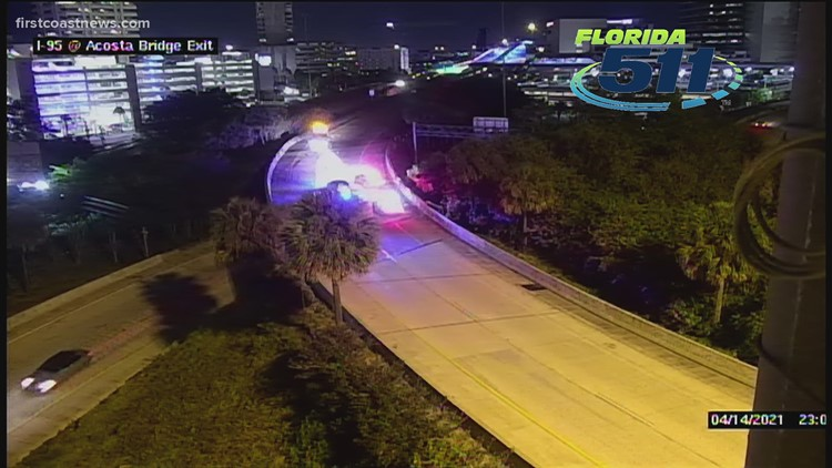 JFRD: 2 injured after falling from Acosta Bridge following motorcycle accident