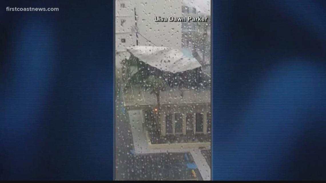 Hurricane Michael Rips Off Roof In Panama City Firstcoastnewscom