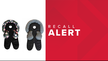 SUFFOCATION HAZARD: Boppy Co. recalls thousands of stroller swing accessories