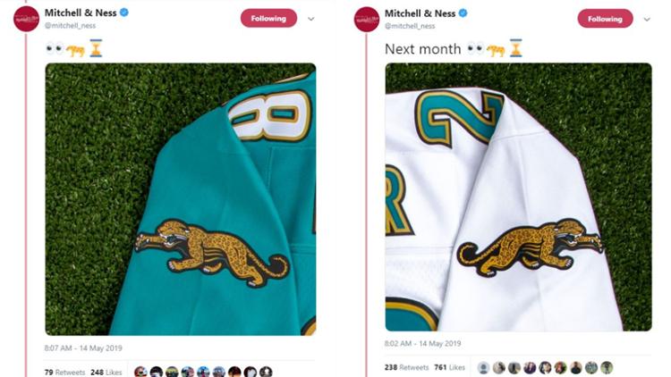 Old school Jaguars jerseys making a comeback?