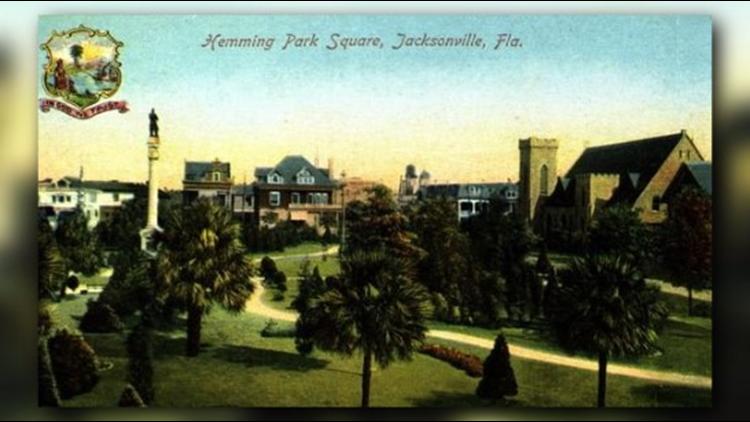 Hemming Park Square- Jacksonville, Florida. 19--?