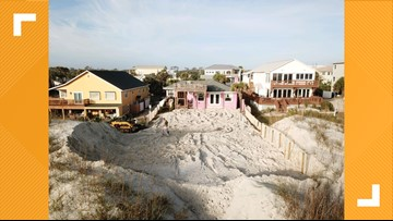 Excavated dune in St. Augustine infuriates neighbors but is legal according to state regulators