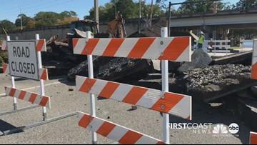 Edgewood Ave. railroad crossing closed for repairs until next week