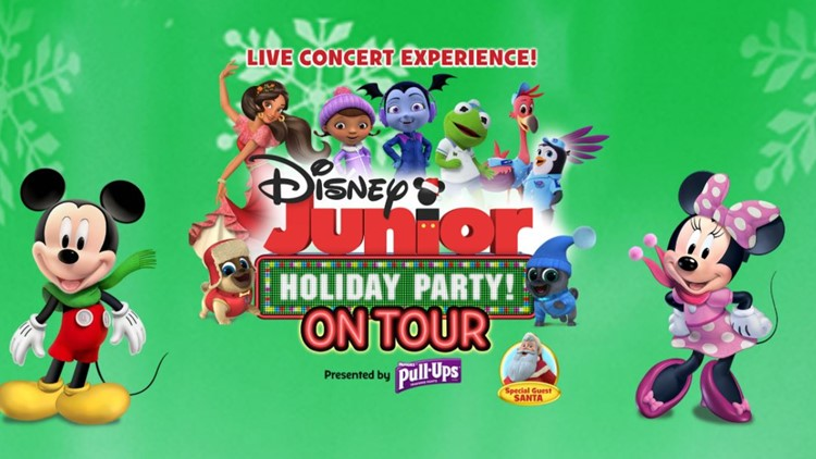 Image result for disney junior holiday party