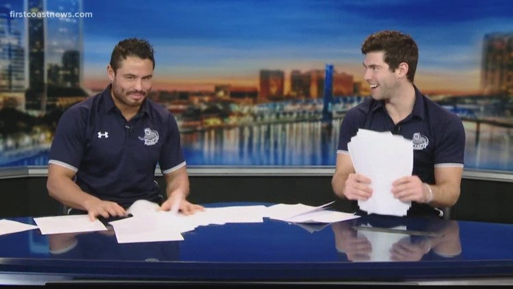 'Can't be too hard': The Jacksonville Iceman, First Coast News team switch jobs for a day