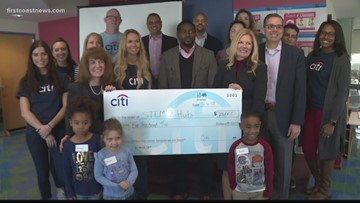 Citi STEM2 Hub donation