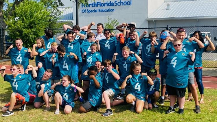 Jaguars' Josh Lambo sponsoring iCan Bike Camp at North Florida School of Special Education