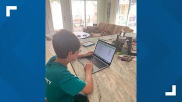 North Florida School of Special Education students adapting to virtual school