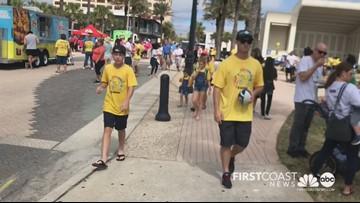 DSAJ holds 17th annual Buddy Walk at Jax Beach