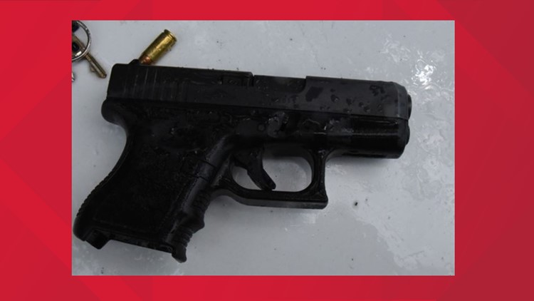 Gun used in Skylor Cole Johnson case