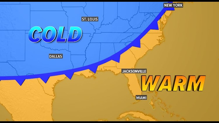 Cold Front: 11/8/19