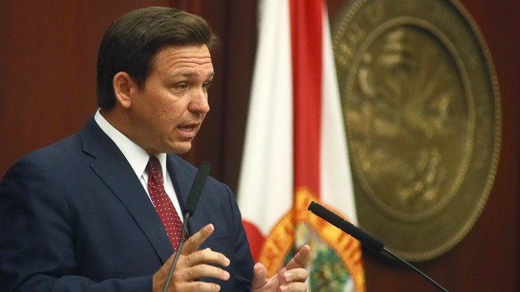 Gov. Ron DeSantis set to speak in Lakeland