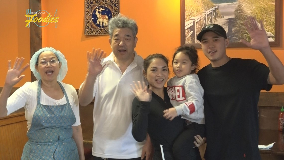 Family Brings Authentic Thai Cuisine To Jacksonville Firstcoastnews Com
