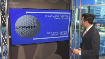 Science with Steve: In what weather conditions will a golf ball travel further?