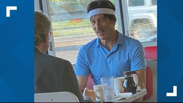 'Uncle Rico' spotted at Jax Beach Waffle House