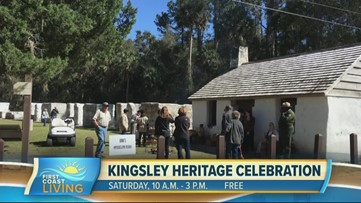 Get an up close and personal look at history on the First Coast at the Kingsley Heritage Celebration this weekend (FCL February 19th 2020)