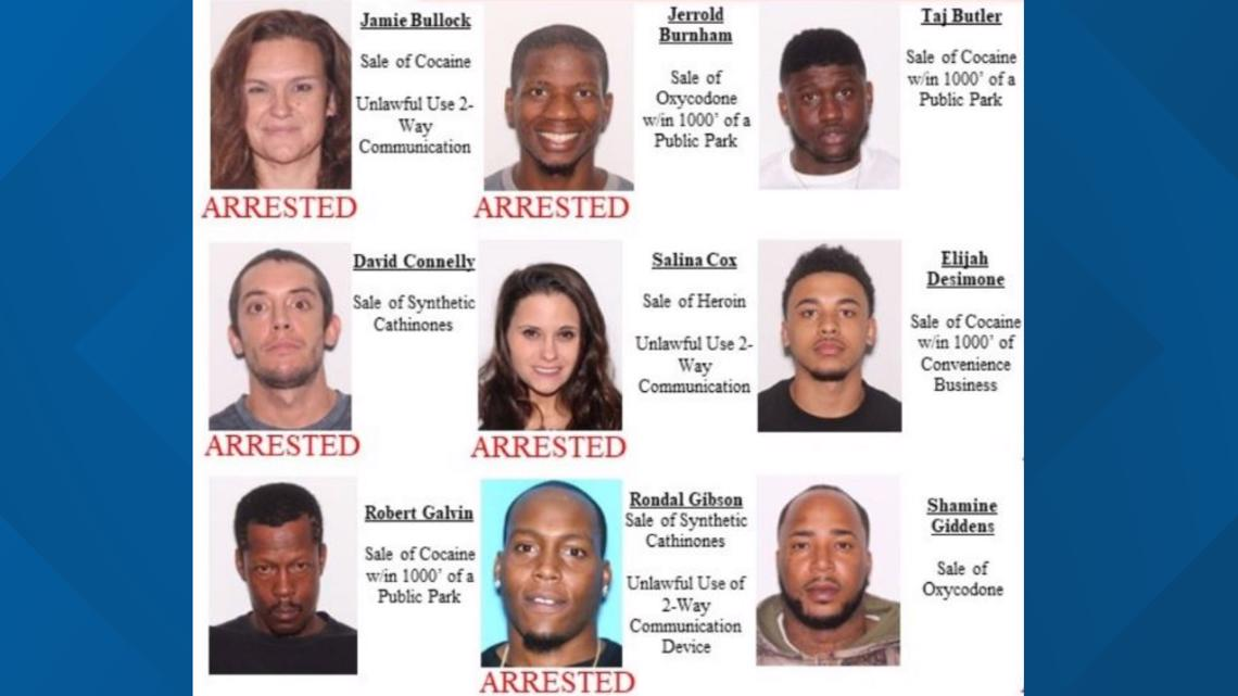 40 people arrested in Flagler County Sheriff's Office largest drugs sweep