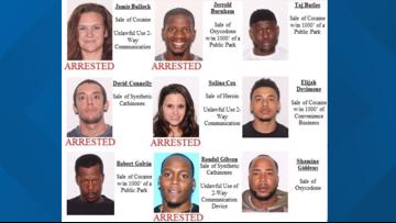 40 people arrested in Flagler County Sheriff's Office