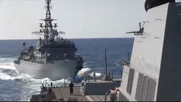 Russian ship 'aggressively approached' Mayport-based ship in North Arabian Sea