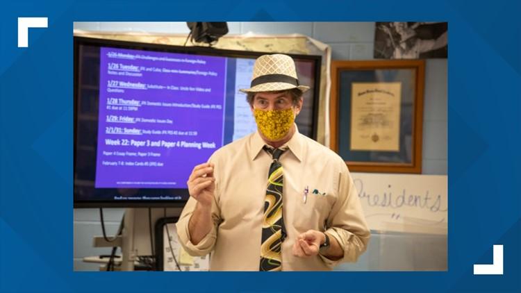 Mandarin High history teacher Jim Schmitt named Florida Teacher of the Year finalist