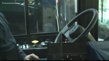 JTA installs new protective shields in busses