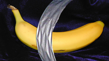 A guy ate that $120,000 banana duct-taped to an art gallery wall in Florida